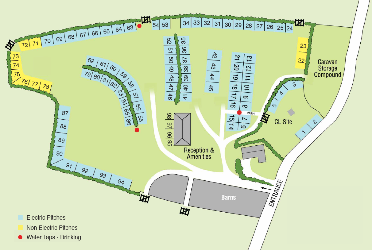 map of broadleigh farm site